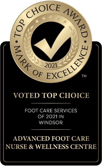 Top Choice Award Advanced Foot Care